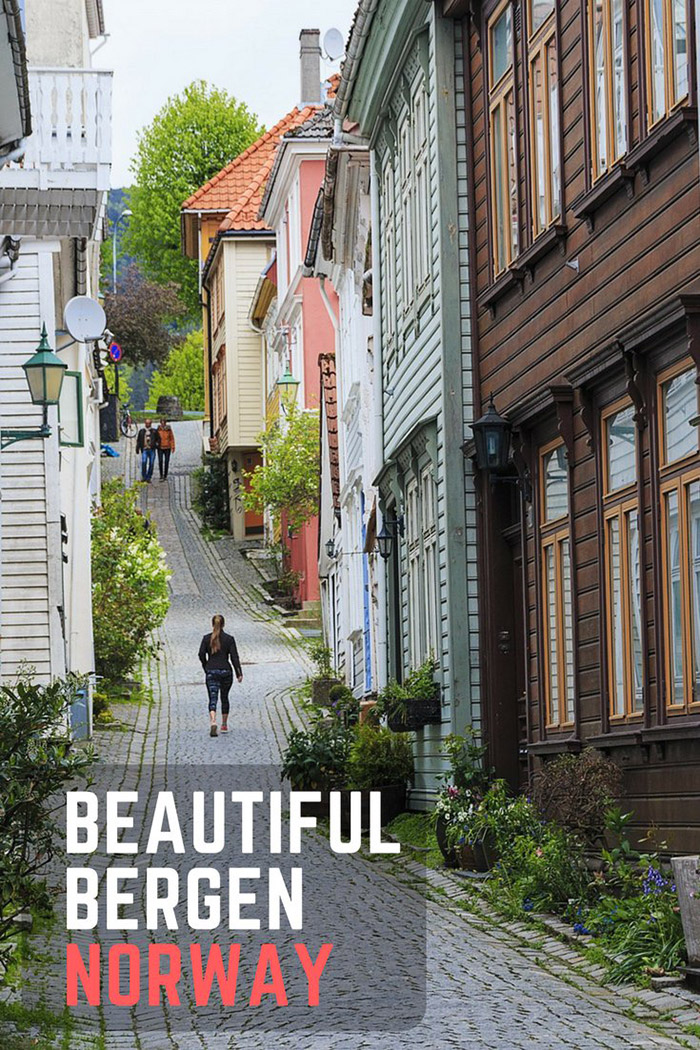 Photos of Bergen: Beautiful Bergen is the gateway to the Norwegian fjords.