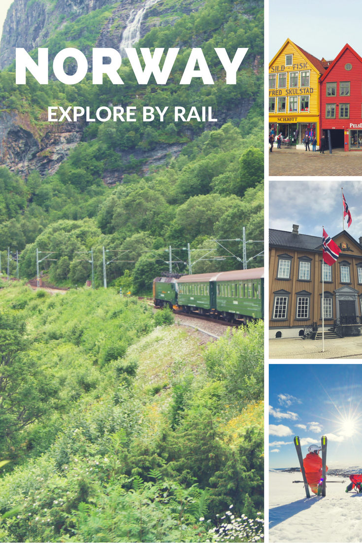 Norway by Rail: See some of the best scenery Norway has to offer from the comfort of the country's railway network.