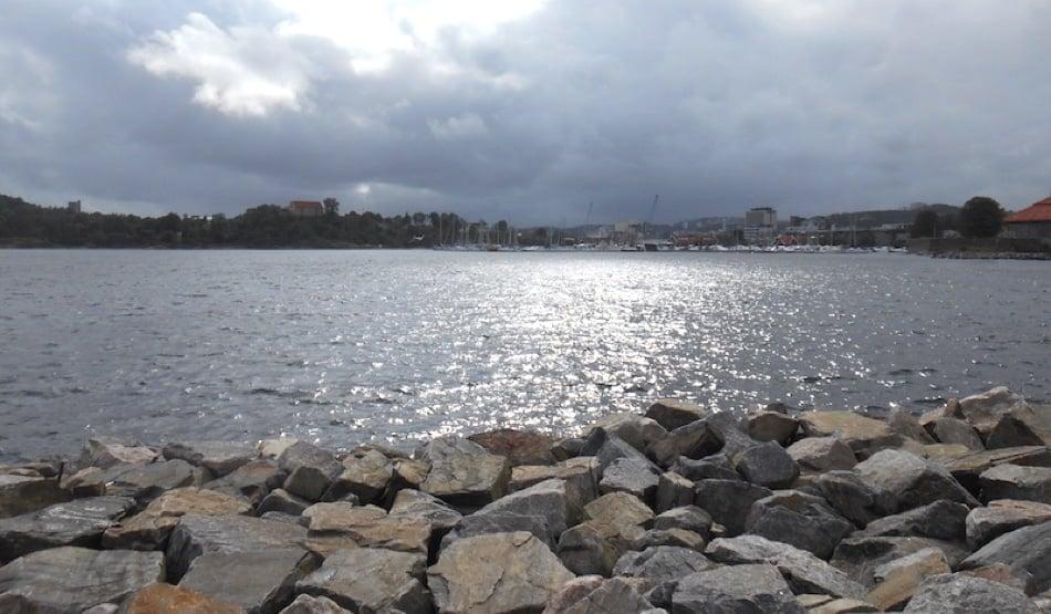 Sørlandet coastline