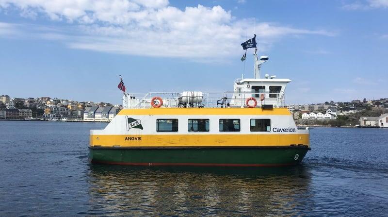 Sundbåten in Kristiansund