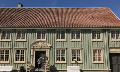 Traditional Norwegian sweet shop at Sverresborg
