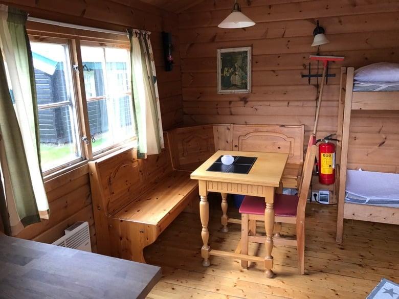 Interior of the cabin
