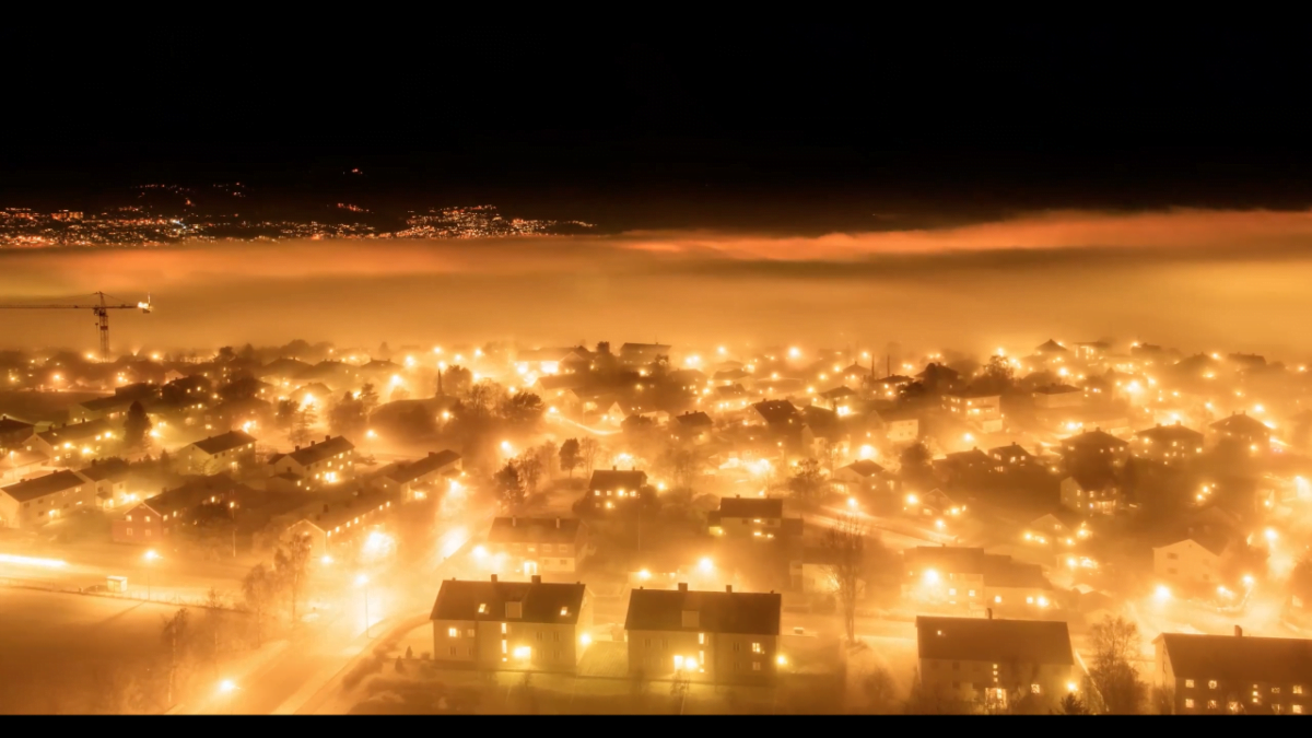Video clip of Trondheim