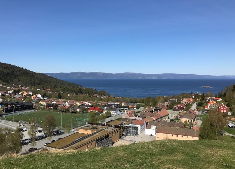 View of Trondheimsfjord from Sverresborg