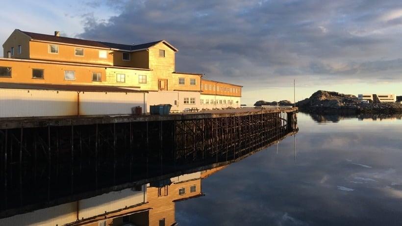 Waterside hotel in Svolvær