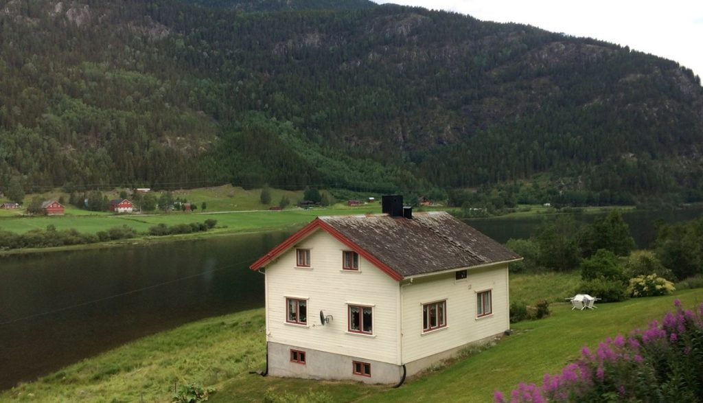 View from the Bergen Line
