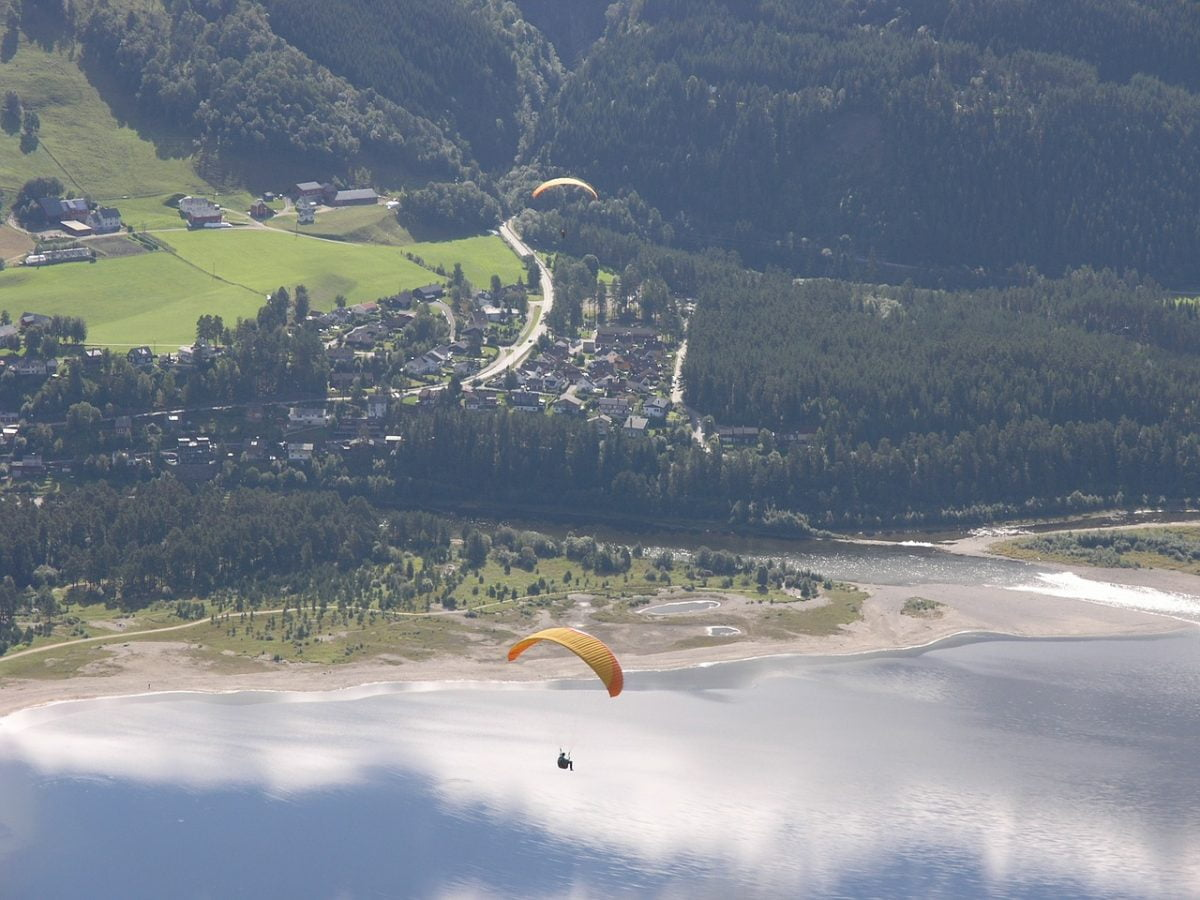 Gliding adventure in Voss
