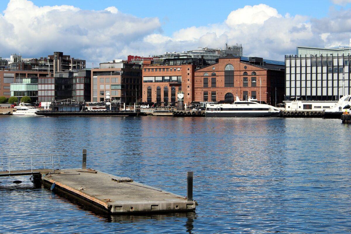 Aker Brygge waterside