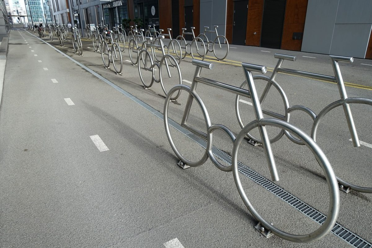 Bicycle parking spaces in Oslo