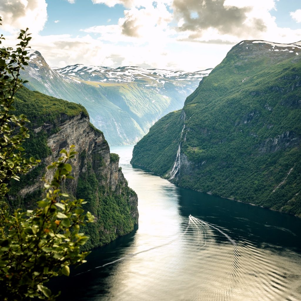 Fjord Norway hiking