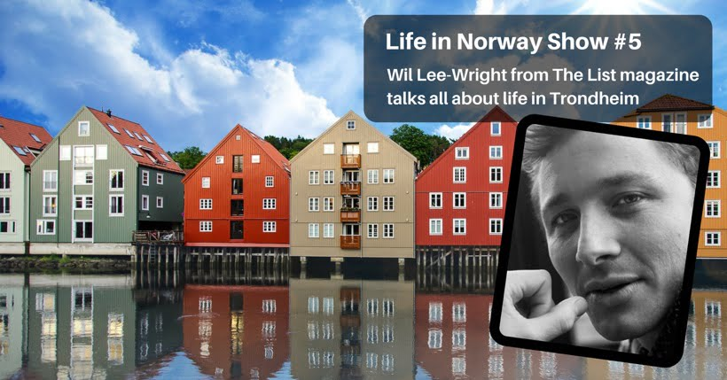 Living in Trondheim podcast interview