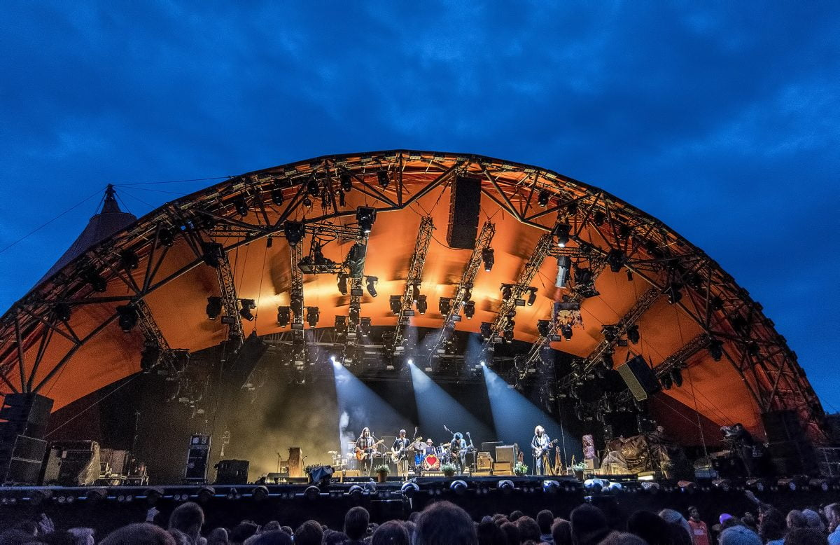 Roskilde orange stage