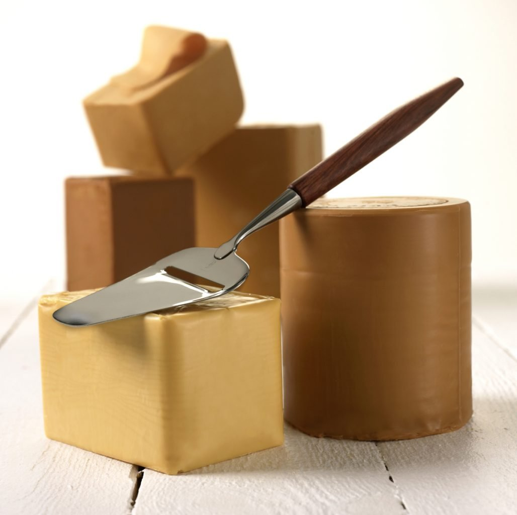 Brown cheese in Norway