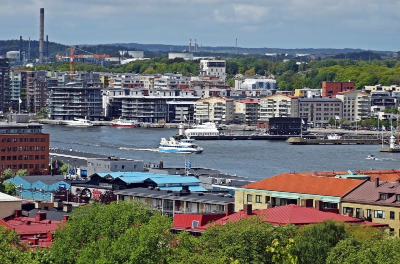 Gothenburg by the water