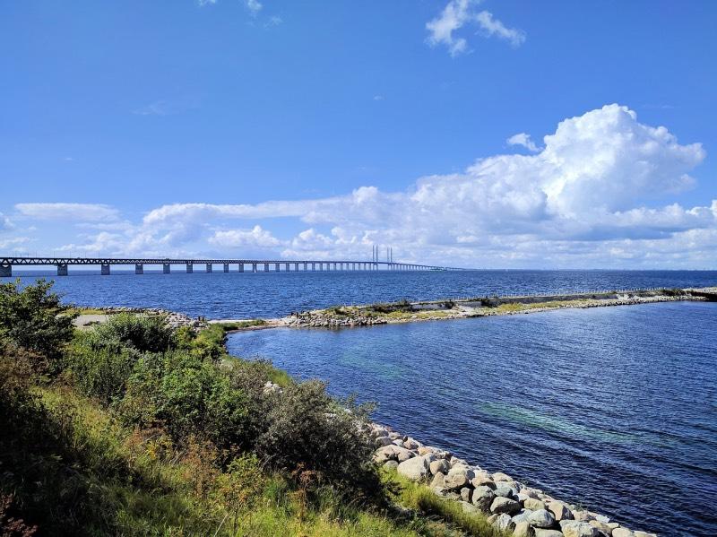 Öresund Bridge in Malmö, Sweden