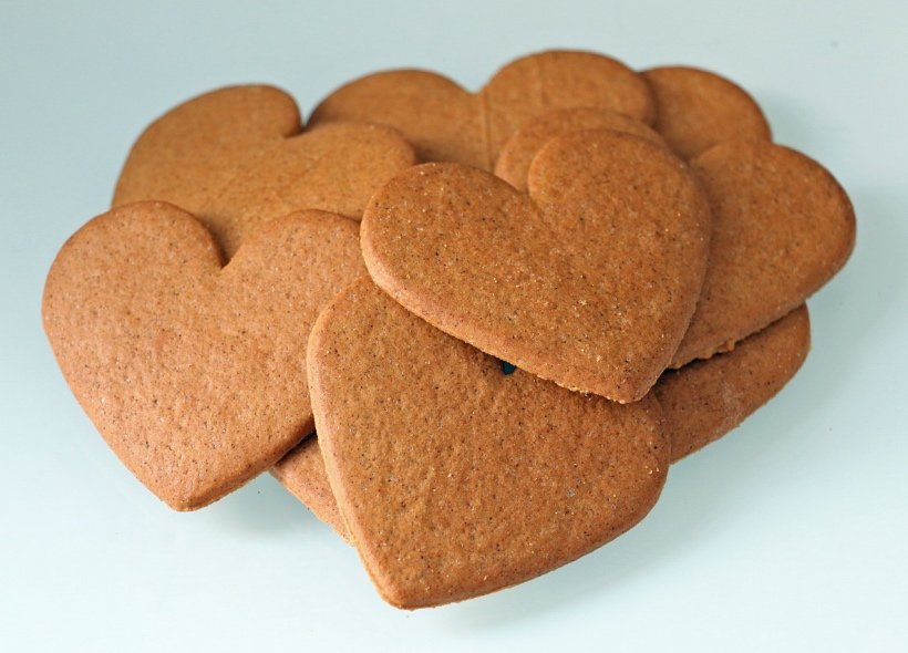 Norwegian gingerbread pepperkaker cookies