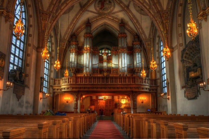 Klara kirken in Stockholm, Sweden