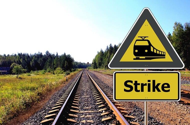 Trade union strikes