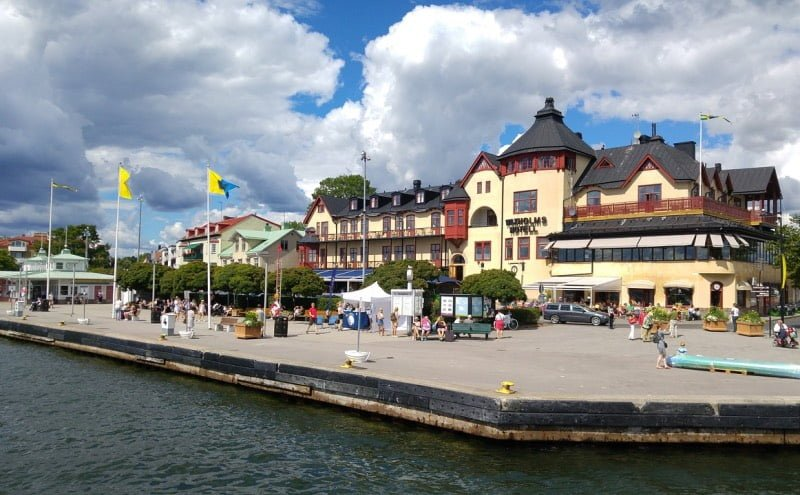 Vaxholm Hotel in Sweden