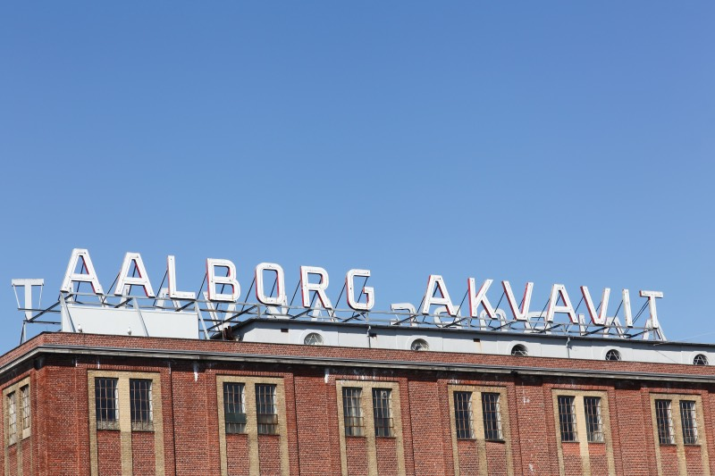 A Danish aquavit factory in Aalborg