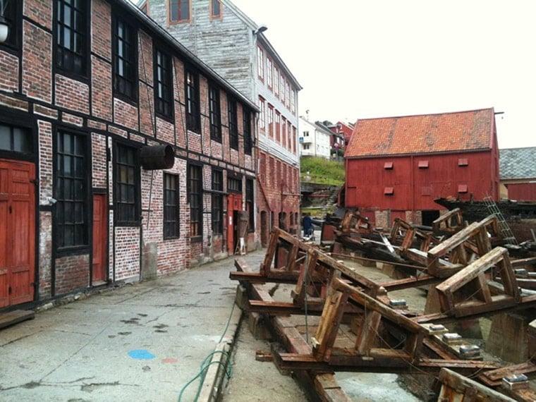 Mellemvaerftet in Kristiansund, Norway