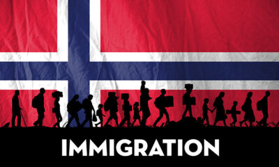 Immigration to Norway flag