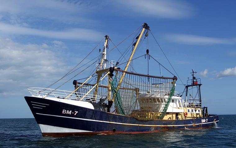 Ocean trawler