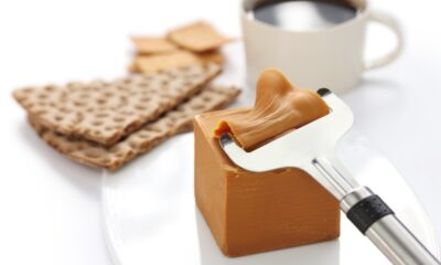 Norwegian brown cheese slicer