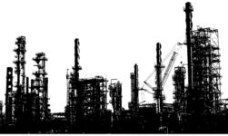 Oil refinery in Norway