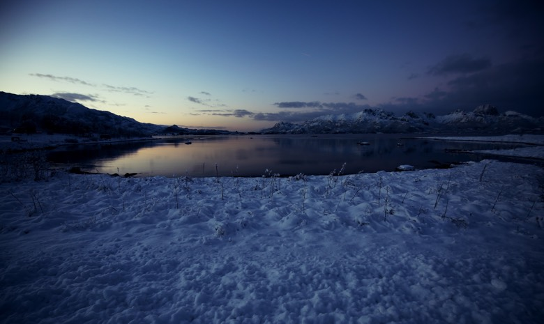 The polar nights in Norway