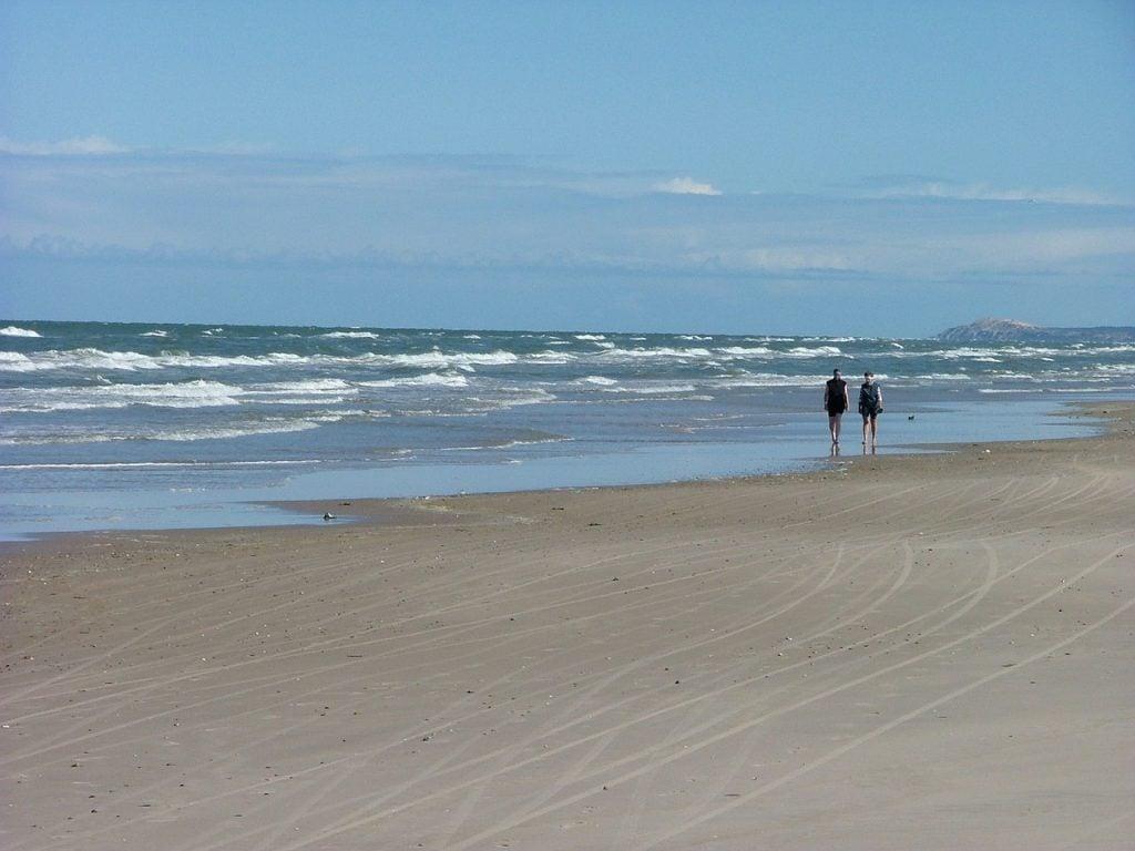 A beach in Denmark