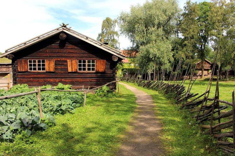 Norwegian Folk Museum in Oslo