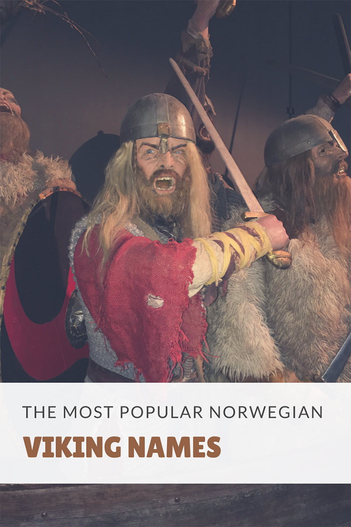 The most popular Norwegian viking names
