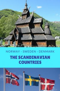 The Scandinavian Countries: Norway, Sweden, and Denmark are the three countries of Scandinavia.