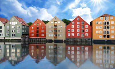 Trondheim in the summertime