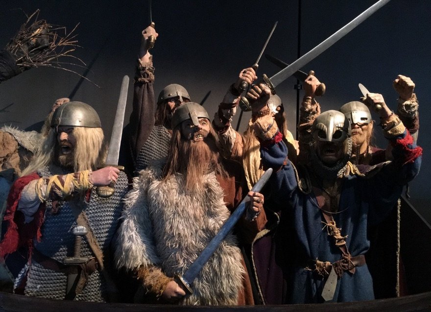 A picture of Vikings in Norway