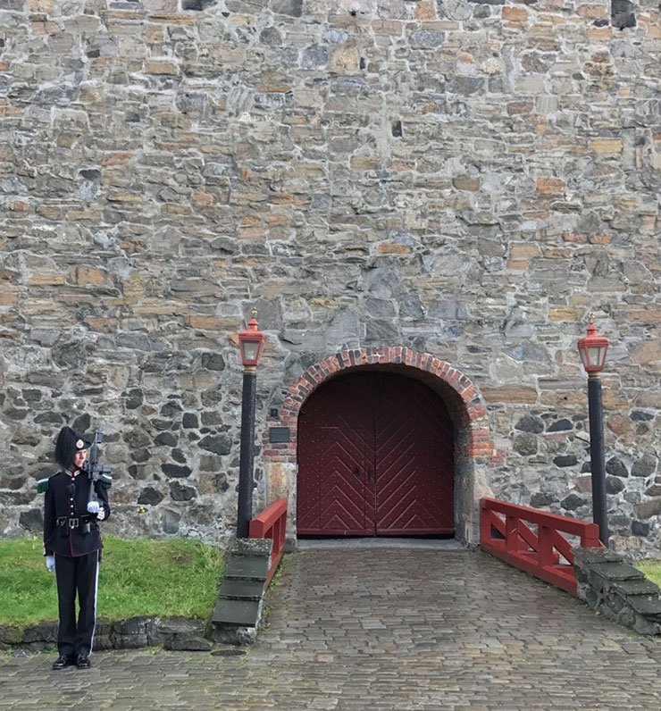 Oslo's Akershus Fortress was used as a prison by Nazi forces