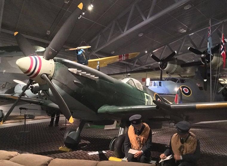 Aviation war museum in Bodø
