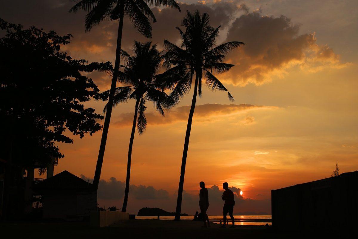 Sunset at Koh Lanta