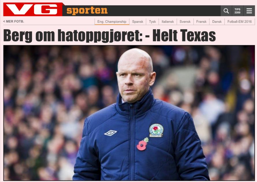 Helt Texas a Norwegian saying