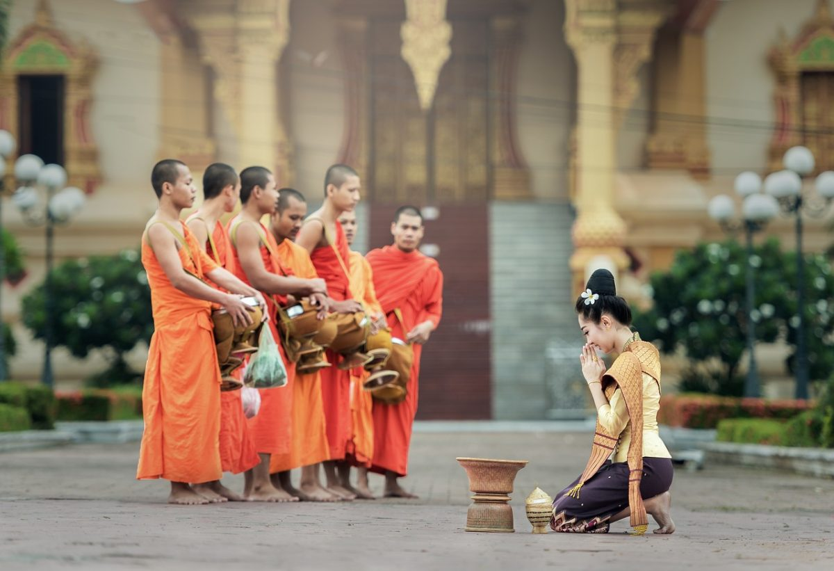 Monks southeast Asia