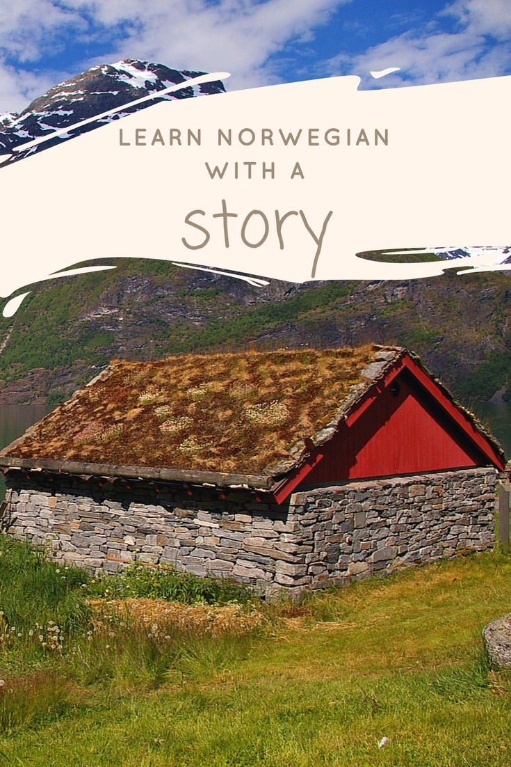Learning the Norwegian language through a story