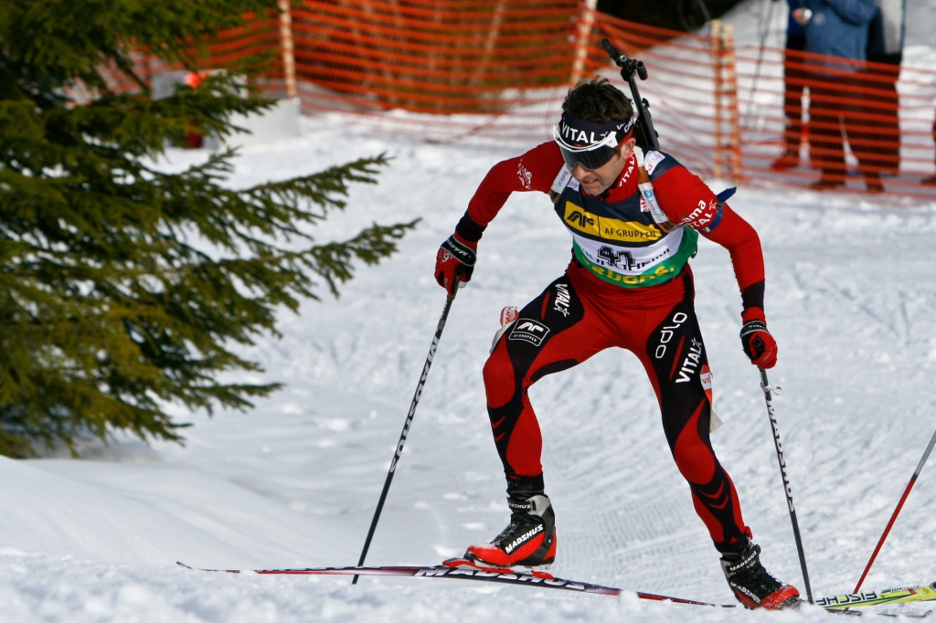 Ole Einar Bjørndalen at the IBU World Cup in Trondheim