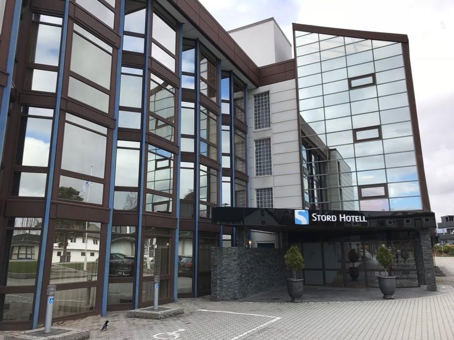 Stord Hotel entrance