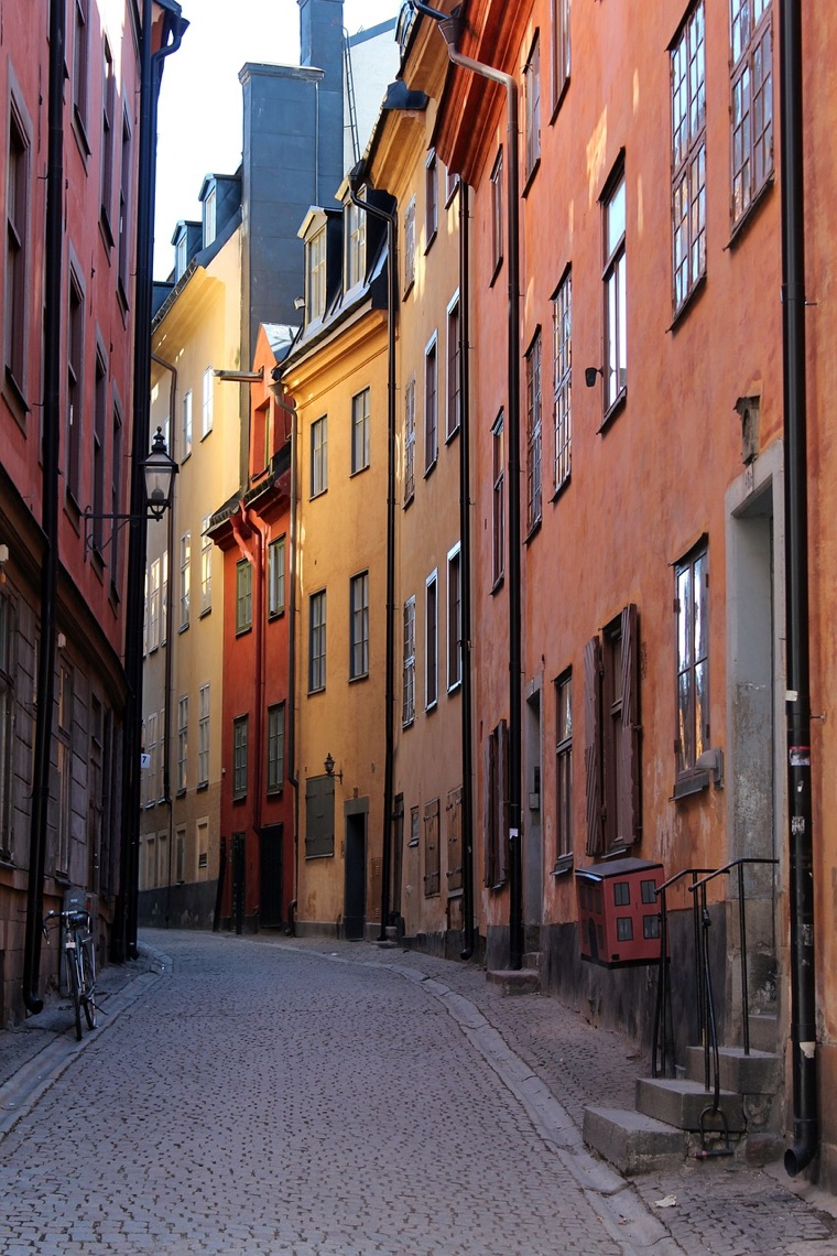 Gamla Stan: The oldest part of Stockholm, Sweden