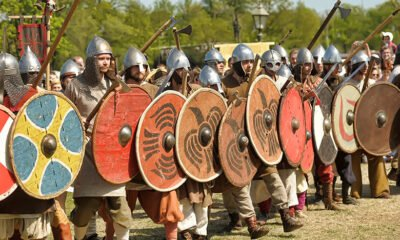 The Vikings played a big part in the history of Norway