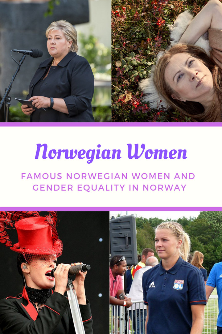 Norwegian Women: Famous women and gender equality in Norway