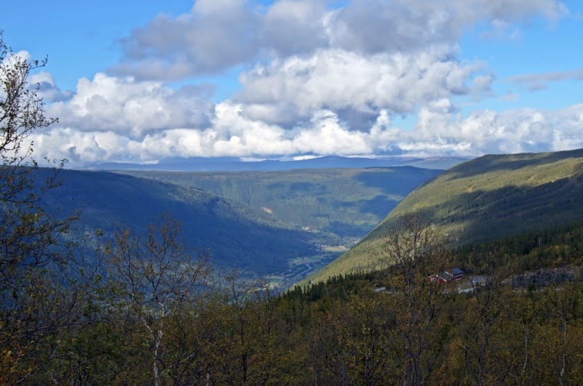 View across Rjukan