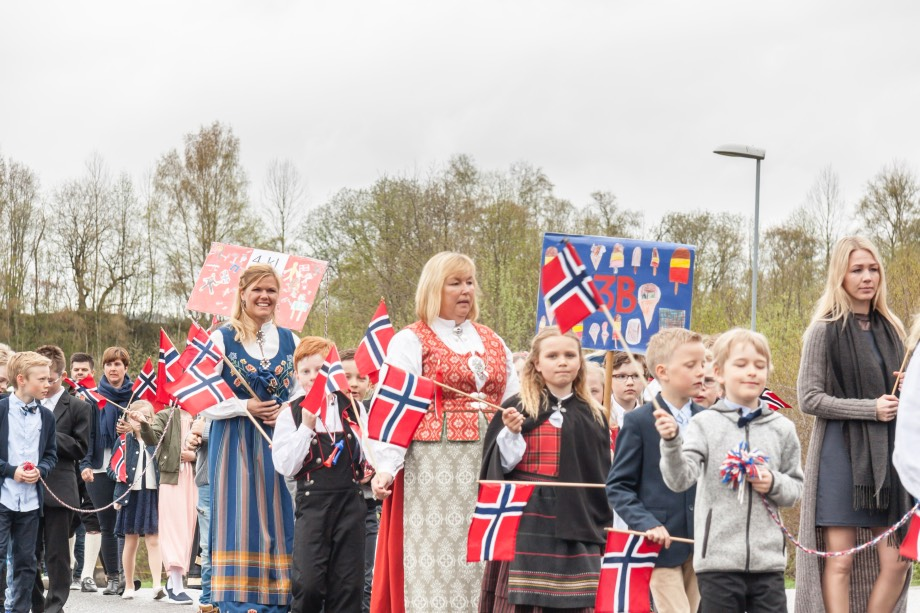 17th of May parade in Verdal, Norway