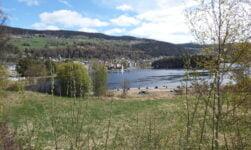 Fagernes in the Valdres valley